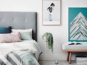 10个北欧风格装饰画效果图 构筑时尚空间