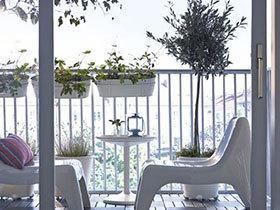 夕阳无限好  10个花园阳台装修布置图