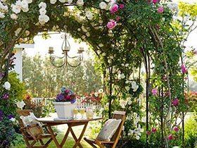 夏日心情汇  10个欧式小花园设计效果图