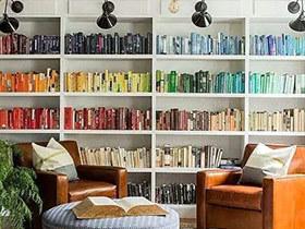 12个背景墙装修书架设计图 书虫理想家
