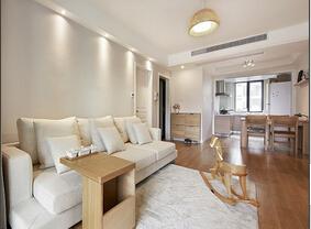 日式风格三室两厅装修 原木色的亮丽与宁静