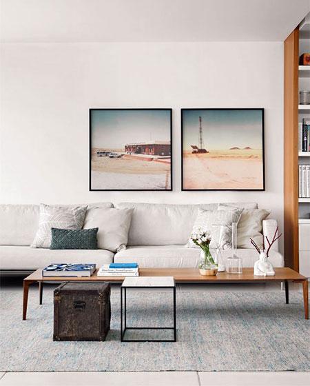 客厅灰色地毯效果图
