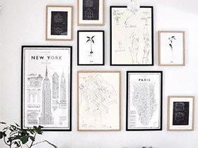 包罗万象的元素  10个墙壁装饰画布置图片
