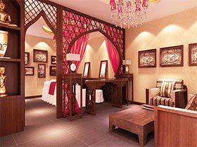 中式经典美容店装修图片