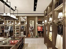 时尚服装店装修装饰效果图