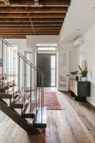 大厨房大客厅 简洁的复式装修大客厅设计