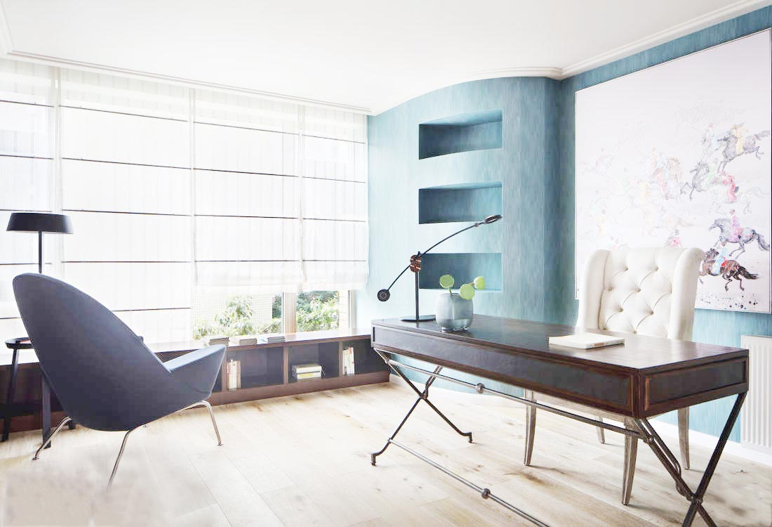 家庭书房设计实景图片