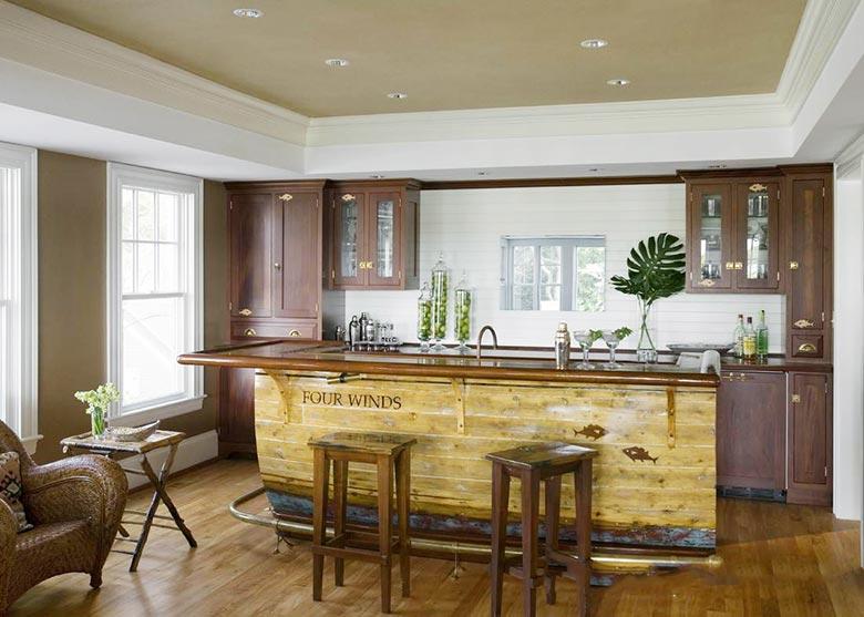 美式风格吧台装修装饰图片