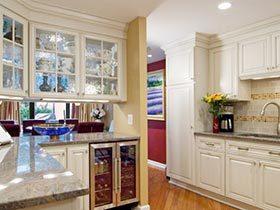 舒适开放家 10款开放式厨房装修效果图