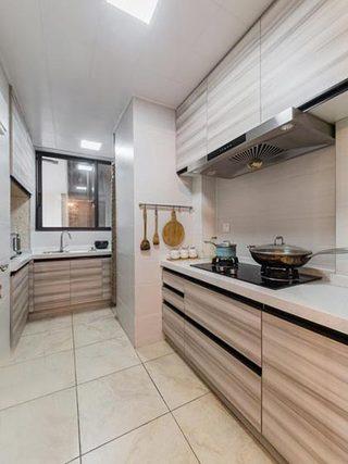 90㎡现代美式两居厨房参考图