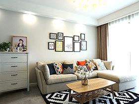 83平北欧风格两室两厅装修 满足北欧情怀