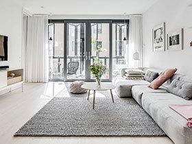 白色让我无比平静  北欧风公寓真的好舒适