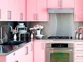10个多彩厨房装修效果图 用色彩装饰空间