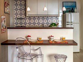 厨房酷帅出场  10个开放式厨房装修效果图