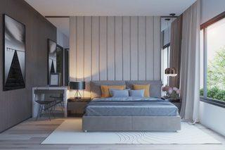 灰色卧室设计参考图