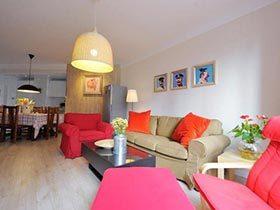 5万设计素色三居室图片  另类的减法设计