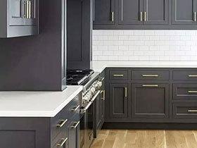 10个灰色厨房装修效果图 颜值与内涵兼备