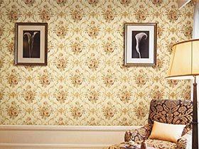 给视觉无限惊喜  10个客厅创意壁纸实景图