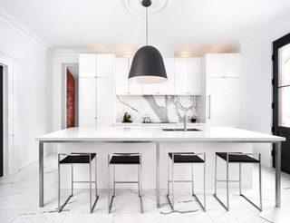白色系厨房设计参考图
