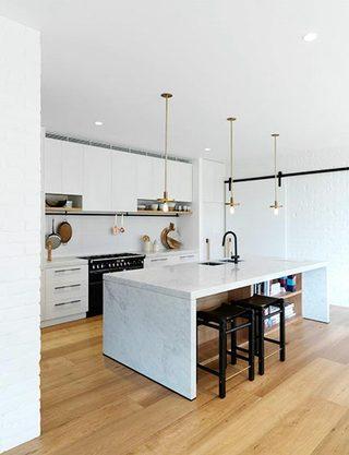 现代风厨房设计参考图