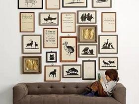 装满回忆的框  10款客厅照片墙图片