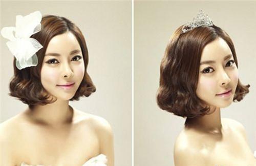 婚纱发型图片大全 发型与婚纱怎么搭配好看