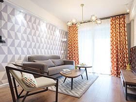 88平北欧风格两室两厅效果图 重新定义自由