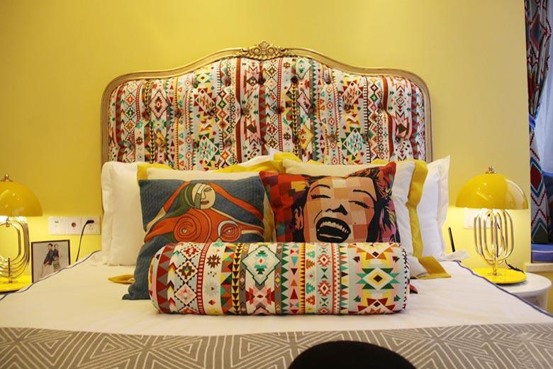 床头背景设计装修图