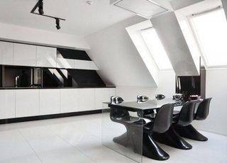 白色厨房设计构造图