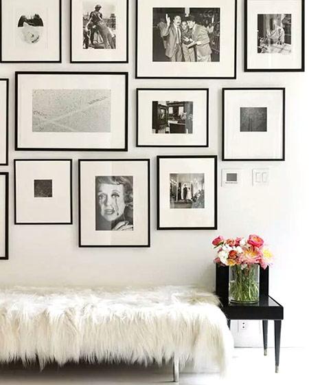 家庭照片墙装修效果图