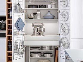 整理出新家  10款厨柜收纳摆放图