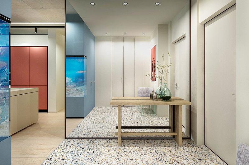 120平公寓装修玄关效果图