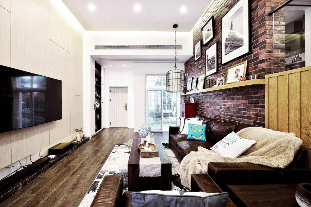 220平小复式装修客厅装修图