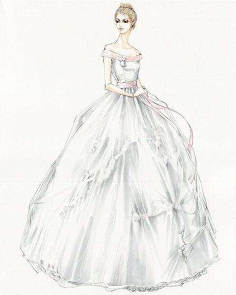 婚纱的_婚纱图片唯美