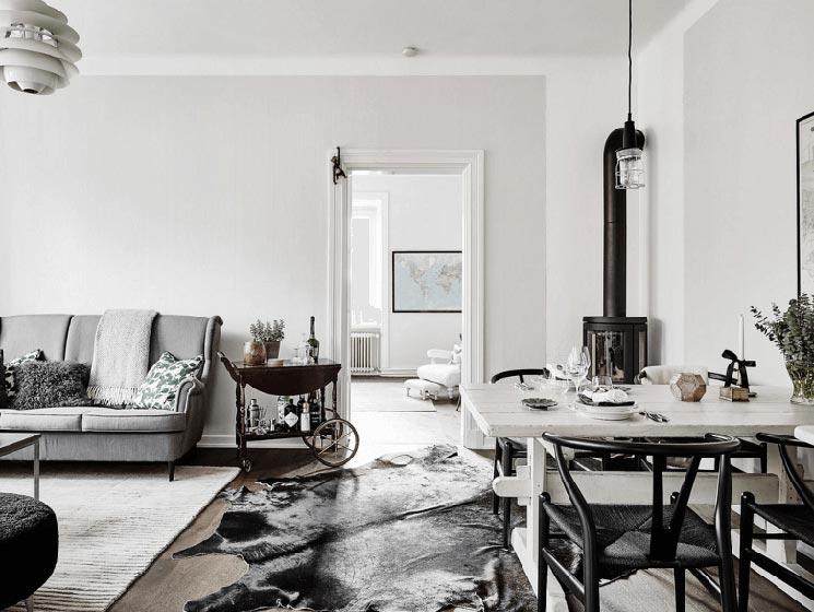 北欧风格客厅设计图片