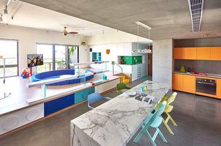 混搭风格两居室装修餐厅效果图