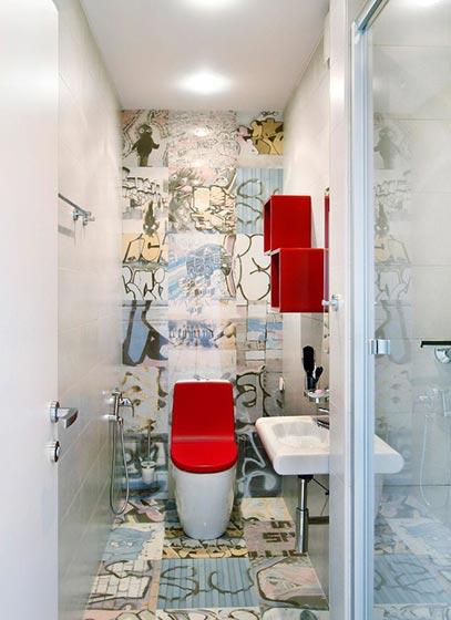 小户型卫生间装修装饰效果图