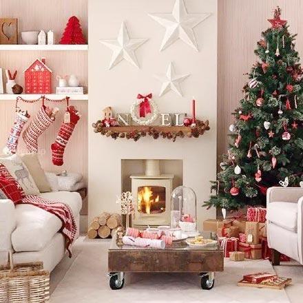 圣诞客厅装修装饰效果图