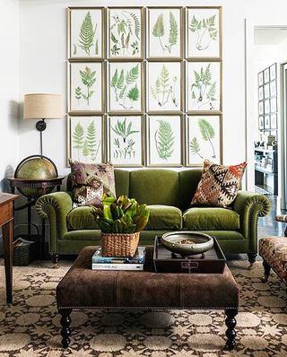 欧式风格客厅三人沙发装修