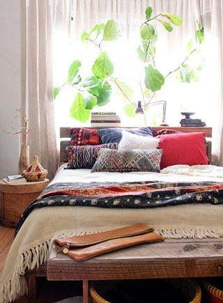 异域风情卧室装修图片