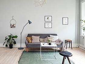 11个客厅木地板效果图 舒适感不言而喻