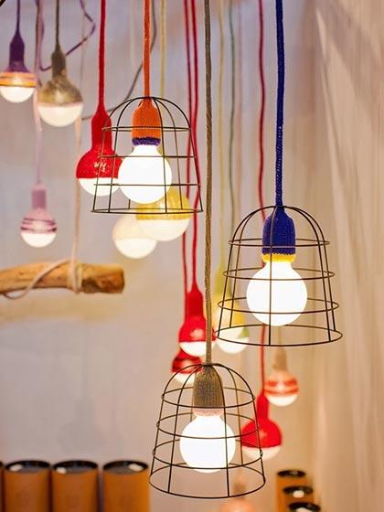创意吊灯装修装饰效果图