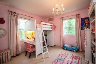 粉色系儿童房设计平面图