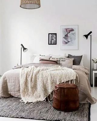 卧室地毯装修效果图