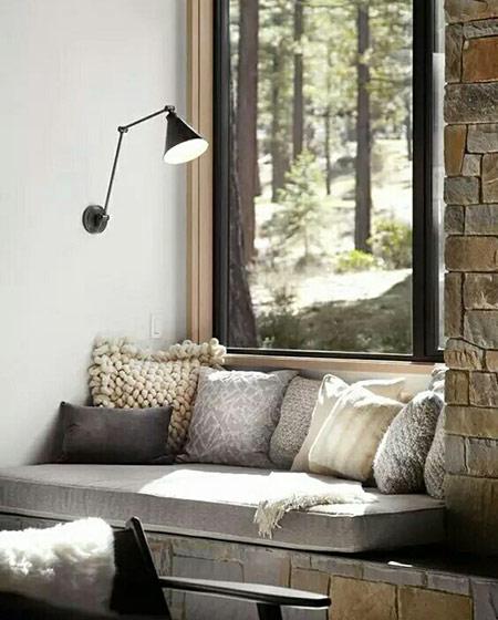 公寓客厅设计飘窗图片