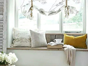10个惬意飘窗装修效果图 颜值与舒适共存