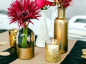 幸福随之而来  10款婚礼餐桌装饰品图片