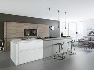 灰白色厨房设计图片大全