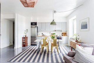 灰白色厨房设计装修图片