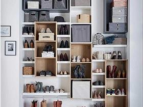 10个鞋柜摆放设计图   给新鞋一个家